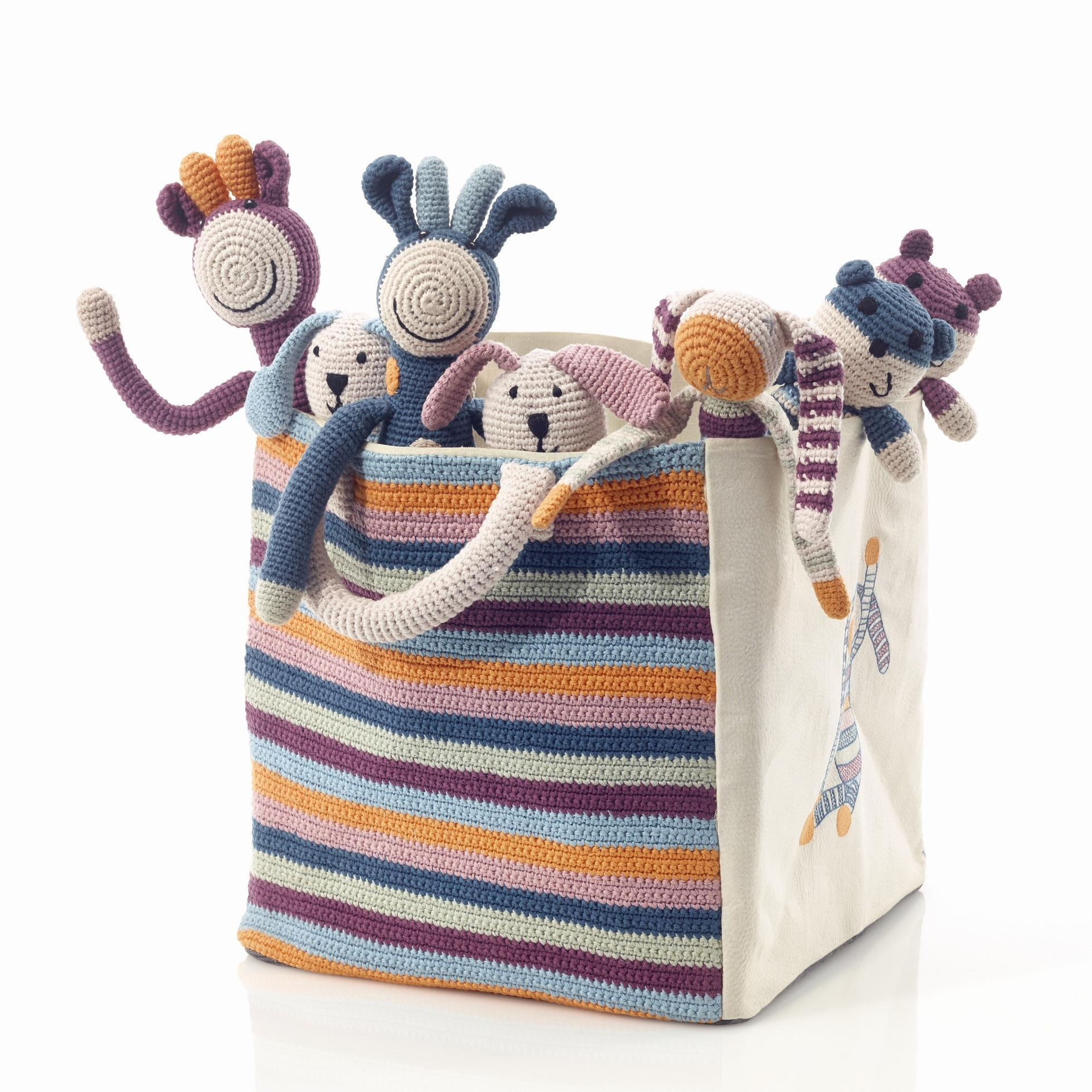 Pebble organic toy bag