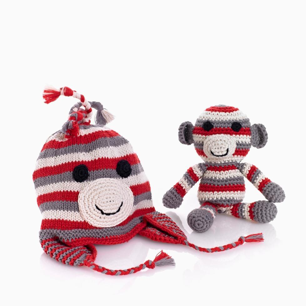 Pebble monkey hat