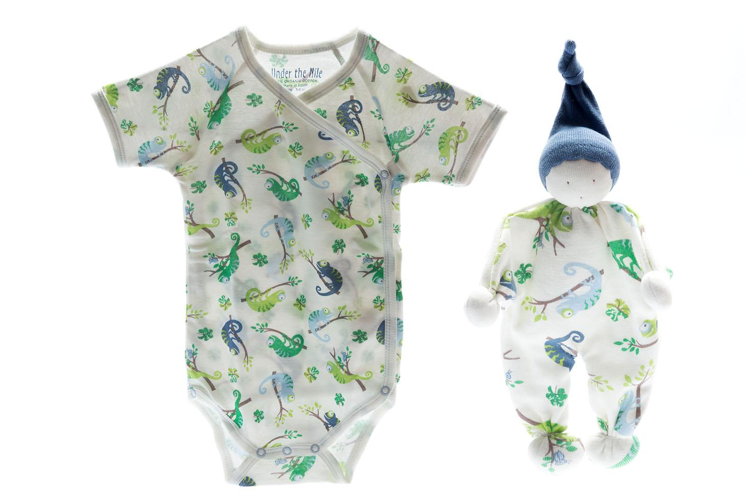 organic baby clothes and comforter