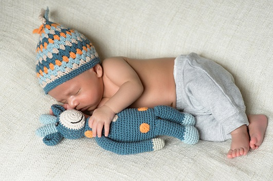 Using Baby Toys as Newborn Baby Photography props