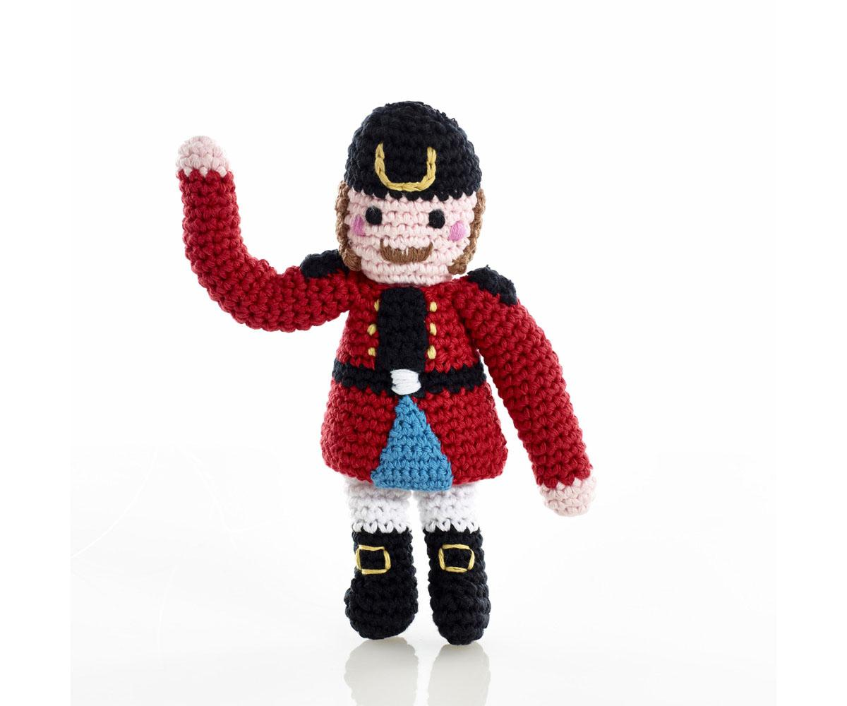 fair trade handmade nutcracker doll