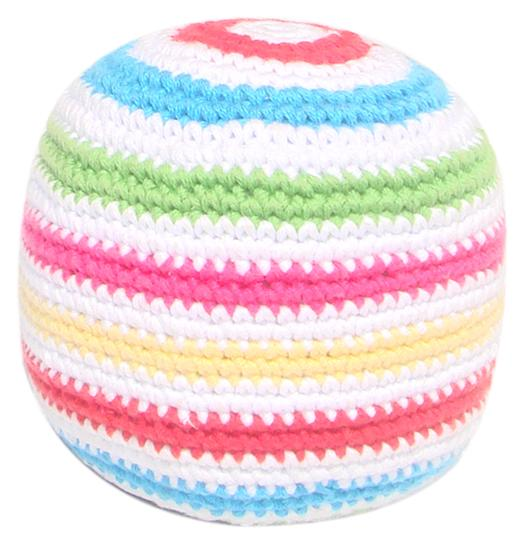 Crochet Cotton Soft Ball with Stripes