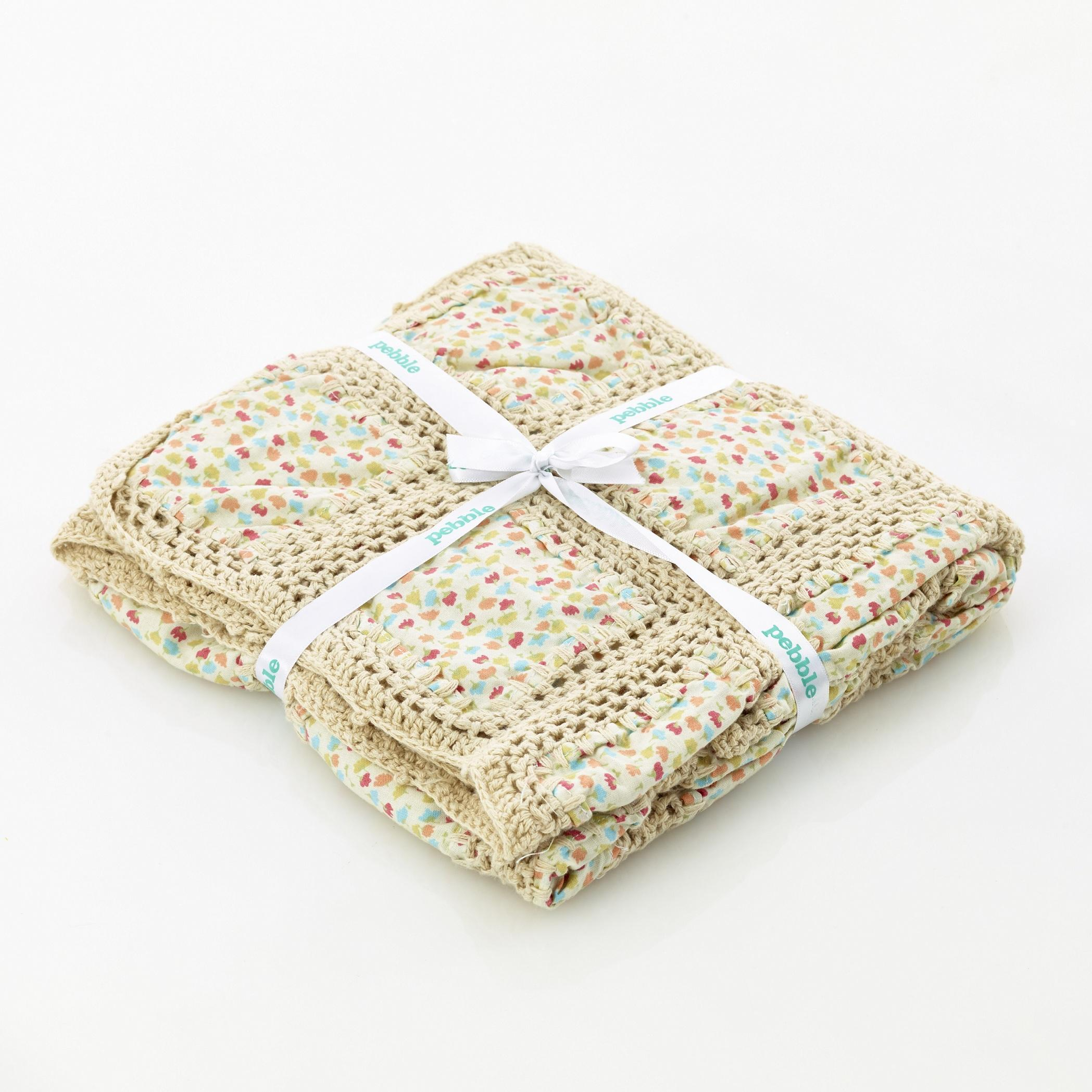 fair trade cotton baby blanket