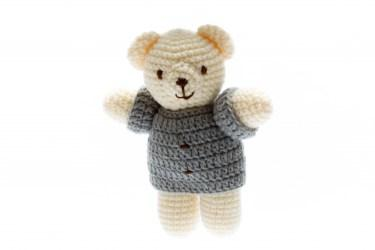 Chunky crochet bear toy6