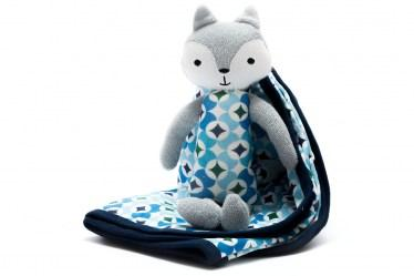 Organic fox and blanket blue3