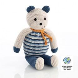 Pebble Teddy Bear petrol blue