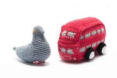 Pigeon and Bus