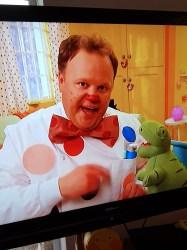 T Rex on Cbeebies