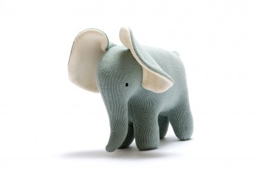 Teal elephant large