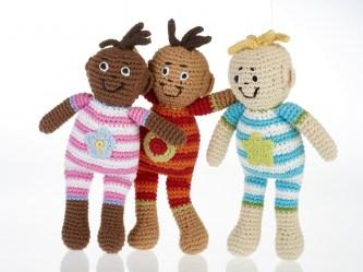 baby doll rattles group