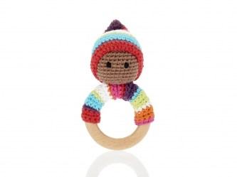 bright pixie ring teether