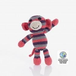 coral monkey rattle wfto