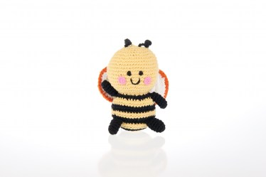 fair trade Bee rattle