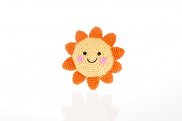 fair trade Friendly sun rattle