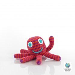 octopus rattle red