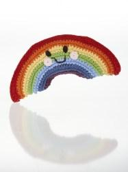 Fair Trade Friendly Rainbow Baby Rattle