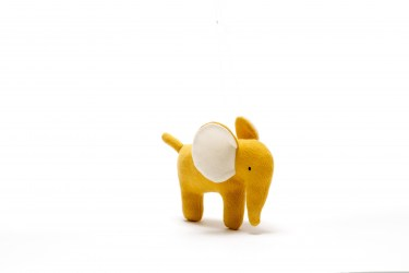 small mustard elephant toy6