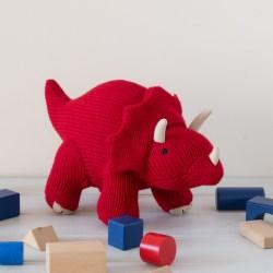 triceratops with blocks